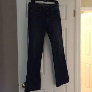 American Eagle skinny kick jeans 10L